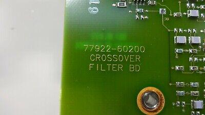 Hp Philips Sonos 5500 Ultrasound Crossover Filter Board 77922-60200
