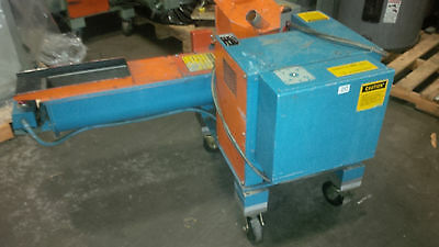 Granutec 5 HP Model 810AM5-6  Auger Style Grinder Granulator