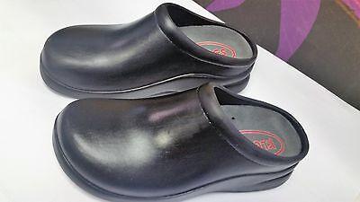 Klogs Spokan Pro/Casual Women's Comfort Clogs Shoes Black 6m EUC
