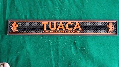Tuaca Bar Mat Drip Rail Runner 23 38 X 3 14 Clean Very Good To Excellent