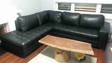L Shape Leather Couch Bayswater Bayswater Area Preview