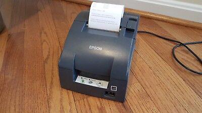 Epson Tm-u220b M188b Point Of Sale Dot Matrix Printer W Ethernet Interface