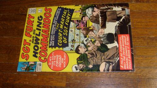 SGT FURY #7 (1964), VG