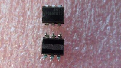 10 Per Lot Transistor 4n25 Opto Isolator 6-pin Dip