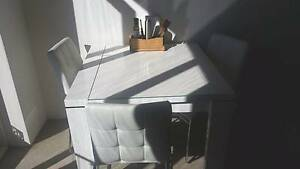 Modern 4 seat Dining table and chairs - Immaculate Mosman Mosman Area Preview
