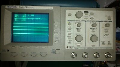 Tektronix Tas475 - Four Channel 100mhz Oscilloscope
