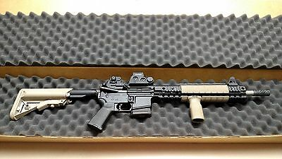 49.5 X 9.75 X 3.625 Foam Lined Corrugated Rifle Shipping Container Box