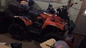 2013 1100 turbo RR and/or 2011 mud pro 700