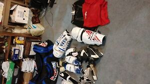 Mostly kids hockey gear