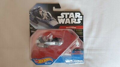 Star Wars Hot Wheels Force Awakens Snow Speeder