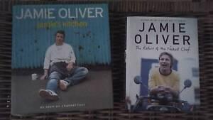 Jamie Oliver 2 cook books Landsborough Caloundra Area Preview