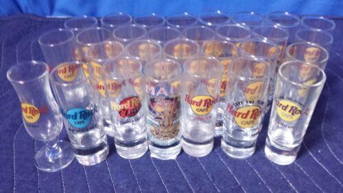 [Lot of 29] Hard Rock Cafe Shotglass Collection [TC]