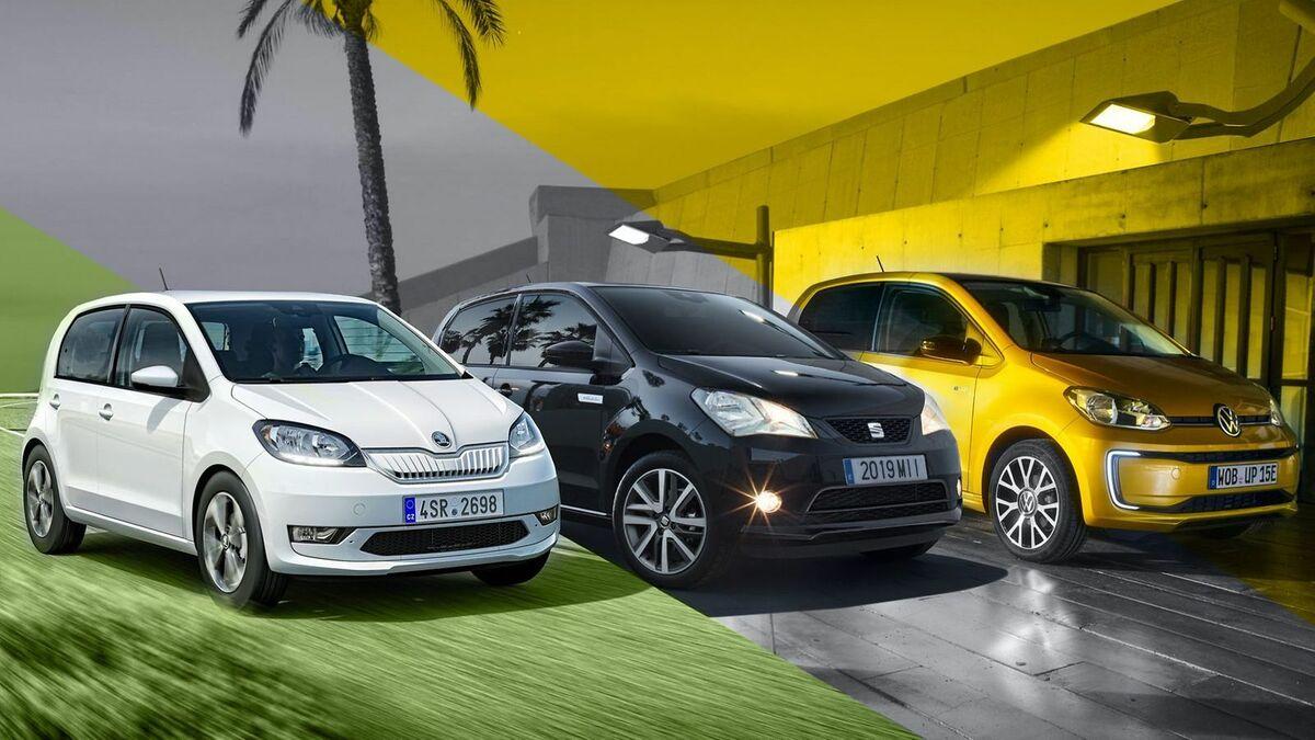 Elektro Kleinstwagen Von Vw Seat Und Skoda Im Vergleich Mobile De