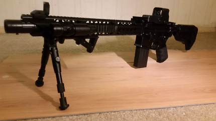 M4 V3 gel ball gun