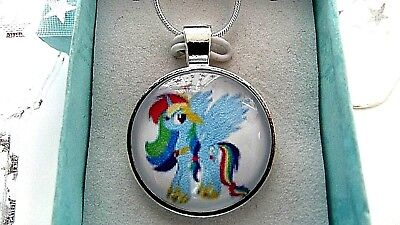 MY LITTLE PONY RAINBOW DASH STRONG CHAIN 22  INCH  GIFT BOX PARTY BIRTHDAY PARTY