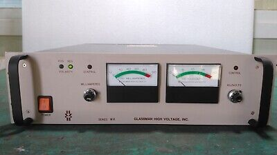 Used Glassman High Voltage Ps Wx20n50.0y69 High Voltage Power Supply