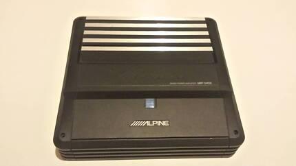 Alpine MRP-M450 Mono subwoofer amplifier 400 watts RMS x 1 Westmead Parramatta Area Preview