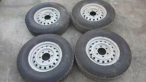 1 set of Holden Rodeo Tyres Pallara Brisbane South West Preview