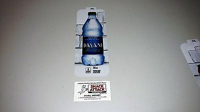 Royal Vendors Soda Vending Machine Dasani Water 20oz Bottle Vend Label