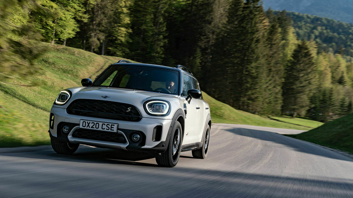 Mini Countryman Frontansicht