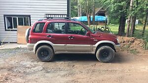 2002 grand vitara trade for Harley