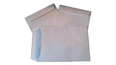 100 Stück Briefumschläge C4 229x324 mm haftklebend weiß Versandtaschen A4