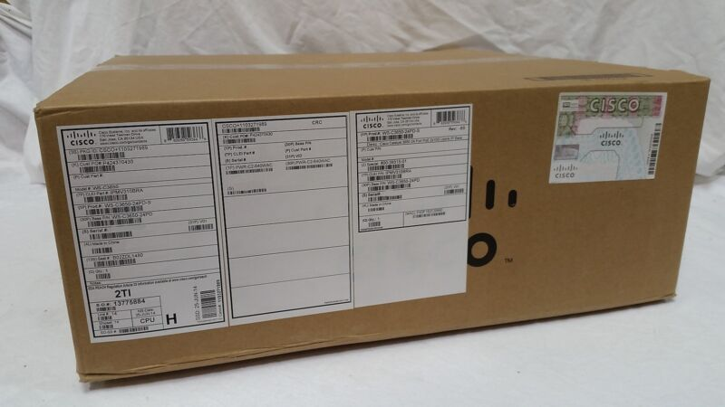 WS-C3650-24PD-S CISCO Managed Catalyst Ethernet Switch *BRAND NEW*