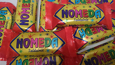 - 10 x Chocolate Bars NOMEDA Wafer with Jam and Peanuts Retro Sweets 40g 1.4oz