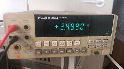 Fluke 8840a Digital Multimter 5 12 Digit