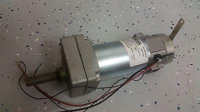 Statuce Electric 5077-060 201 Gear Servo Motor 24vdc 4.5a 130rpm With Brake