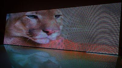 Led Signs Full Color Rgb Programmable Scrolling Led Sign 19 X 51 -usa Seller