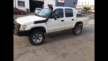 2002 Hilux 3.0 Diesel Manuel For Sale With RWC And Full Year Rego
