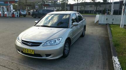 honda civic 2005 just 121k's, 1 year rego Auburn Auburn Area Preview