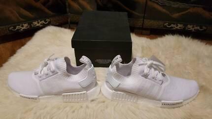Adidas NMD R1 Triple White Japan