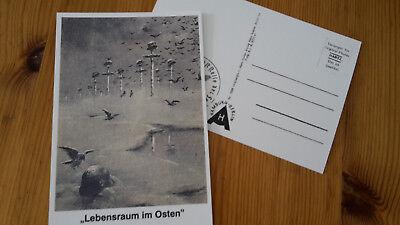 Lebensraum im Osten ! Flugblattpropaganda im Zweiten Weltkrieg Postkarte
