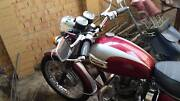 Triumph daytona t100 1971 motorcycle Houghton Adelaide Hills Preview