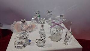 Swarovski and Other Crystal Cats - See Prices below Gungahlin Gungahlin Area Preview