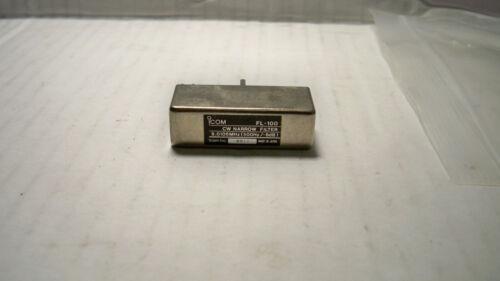 Icom FL-100 CW Narrow Filter solder type nice