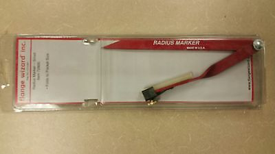 Flange Wizard 72800 Radius Marker For Pipe And Steel Layout - New