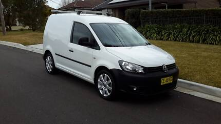 2012 Volkswagen Caddy TDI 250 Special Edition 5 Speed Manual Hornsby Hornsby Area Preview