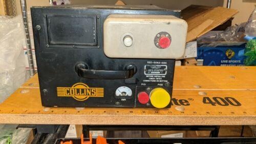 Vintage Collins 180L-3 Military Ham Radio Antenna Coupler Tuner