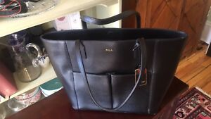 Black, authentic Ralph Lauren brand new purse 120$ firm
