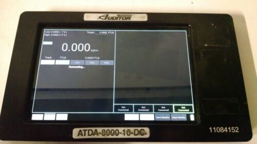 AIMCO DISPLAY ATDA-8000-10-DC Series Torque Data Analyzers USED