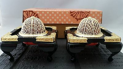 Hina Hinamatsuri Hinaningyo HIBACHI Braziers Exc. condition with Box