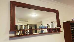 Vintage Style Wall Mirror from Recycled Timber Five Dock Canada Bay Area Preview