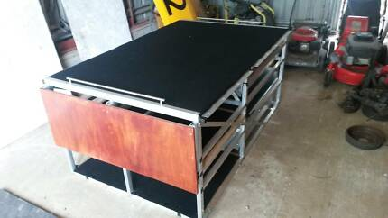 4WD CAMPER Mitsubisi Delicia Camping/Tradie draw system