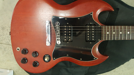 2005 GIBSON SG SPECIAL FADED