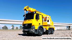 RC Mercedes-Benz Arocs Liebherr truck crane Rosewater Port Adelaide Area Preview