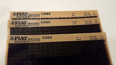 Fiat Parts Catalog Tractor Cabs Microfiche Fiche Manual