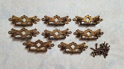Vintage Edwardian Brass Chest Handles